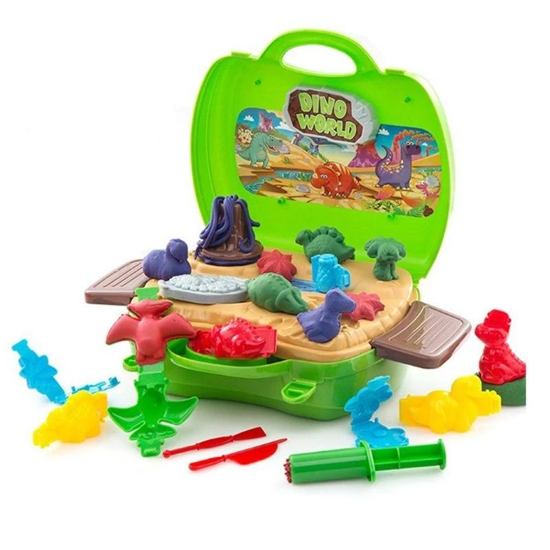 Clay Dinosaur Toys Set