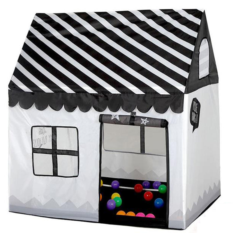 Pop Up B&W Play Tent