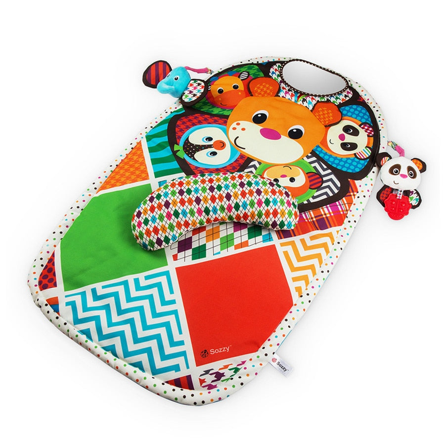 Teddy's Tummy Time Play Mat