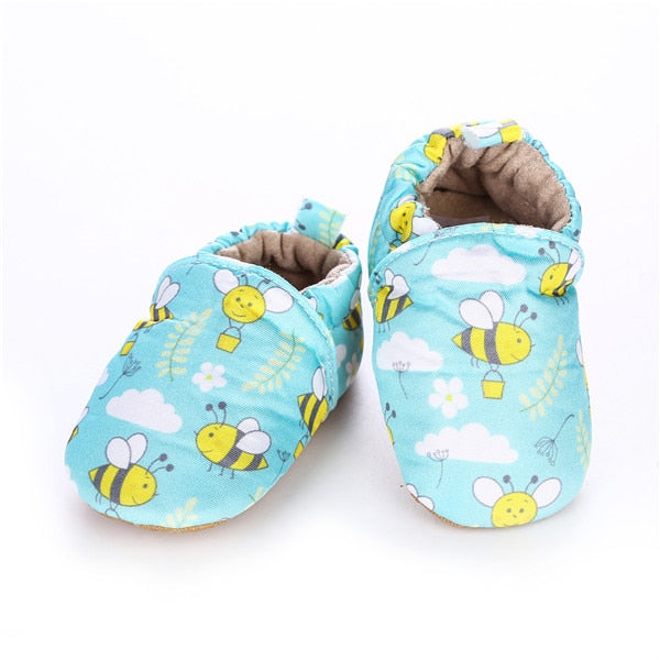 Busy Bee Moccasins