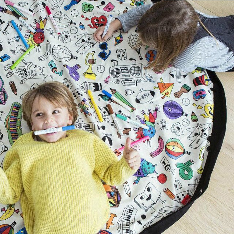Color it Storage & Play Mat