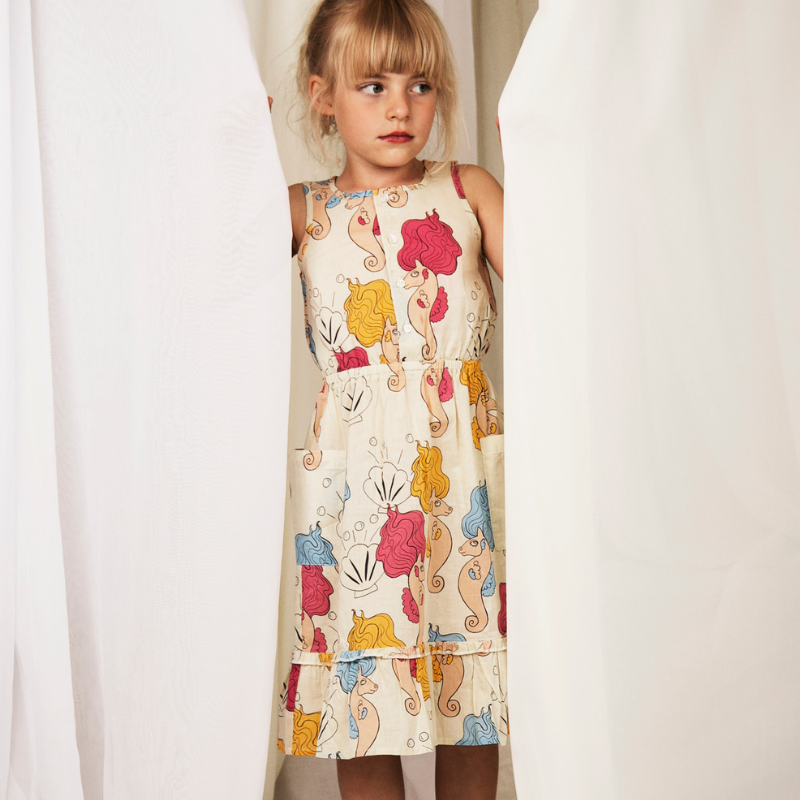 mini rodini sea horse dress