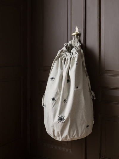 Ferm Living Star Christmas Bag | Sand