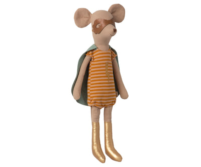 Maileg Superhero Mouse, Medium - Girl