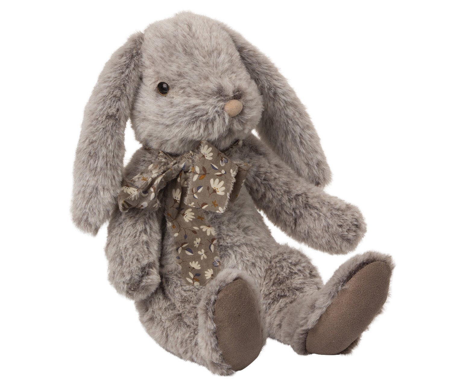 Maileg Fluffy Bunny, Large - Grey