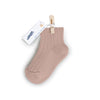 Collegien Ribbed Ankle Socks / Vieux Rose