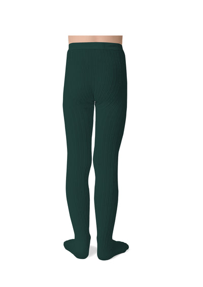 Collegien Ribbed Tights / Fonds marins