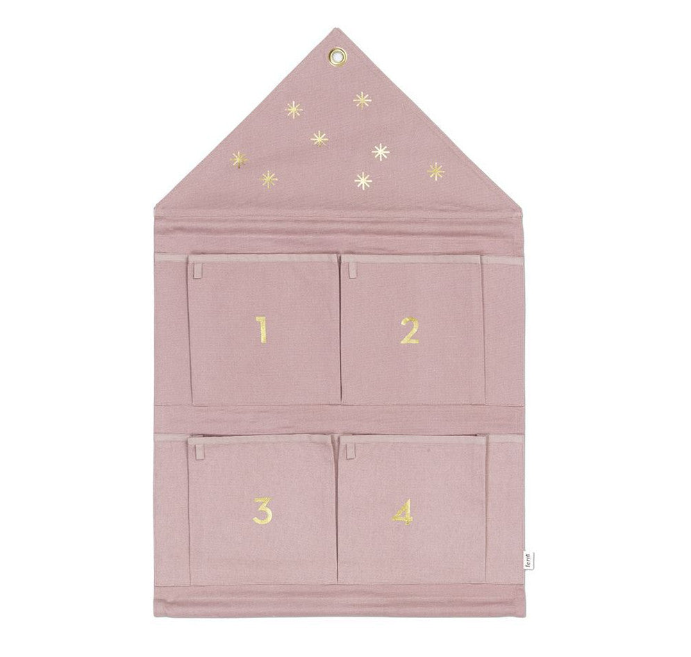 Ferm Living House Advent Calendar / Rose