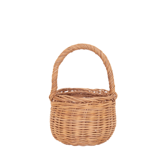Olli Ella Rattan Berry Basket / Natural