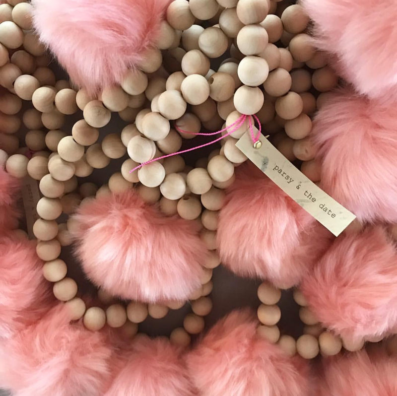Parsy And The Date Pom Pom Necklace