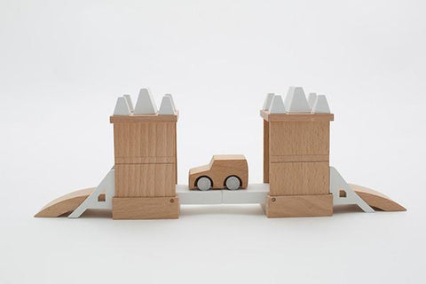 Kiko Wooden Toys -  Machi Tower Bridge