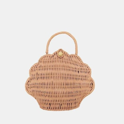Olli Ella Shell Purse / Rose