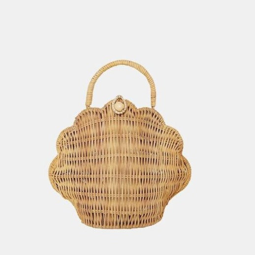 Olli Ella Shell Bag / Straw