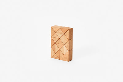 Areaware Snake Block Small / Natural