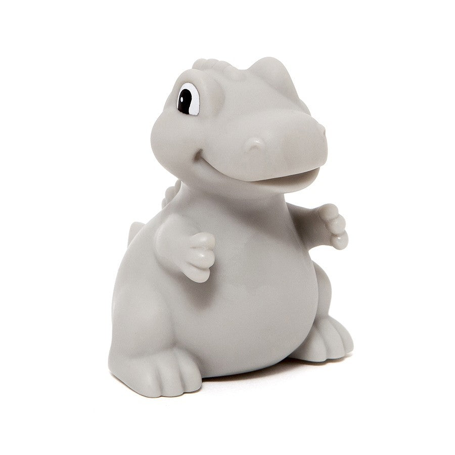 Petit Monkey Dino Night Light T-rex Grey