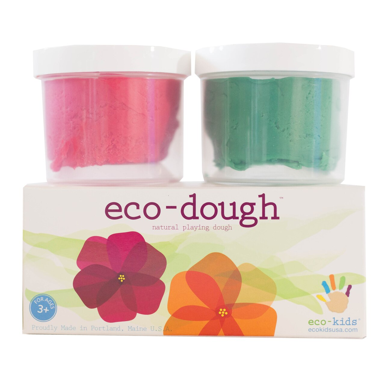 Eco-Kids Eco-Dough 2-Pack - Flower