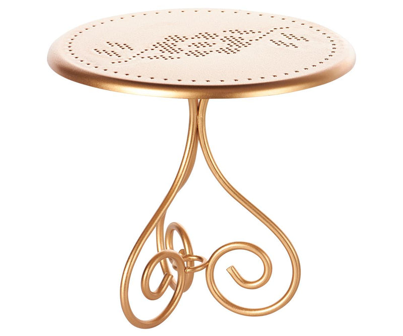 Maileg Gold Vintage Coffee Table