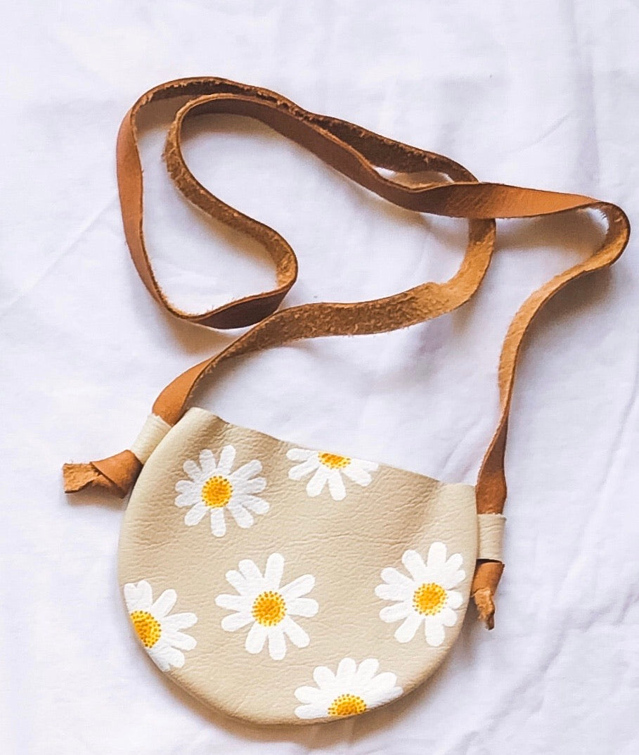 Le Petit Elle X Little Moon Leather Daisy Bag