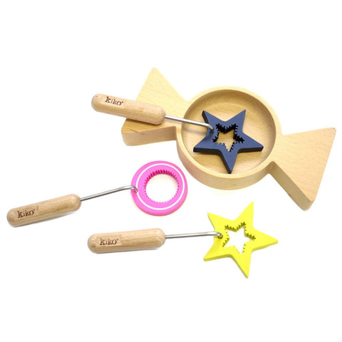 Kiko Wooden Toys -  Amechan - magical bubbles for blowing