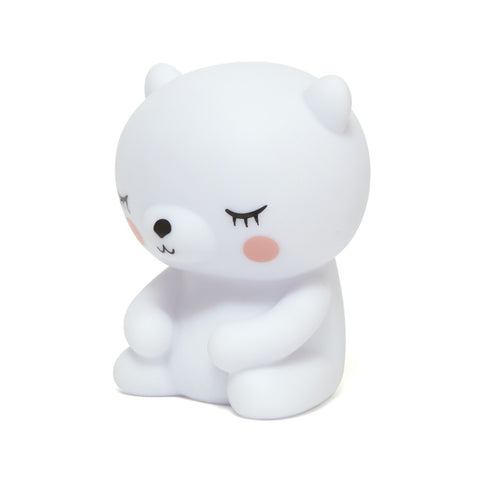 Petit Monkey Polar Bear Nightlight - Le Petit Organic - 2