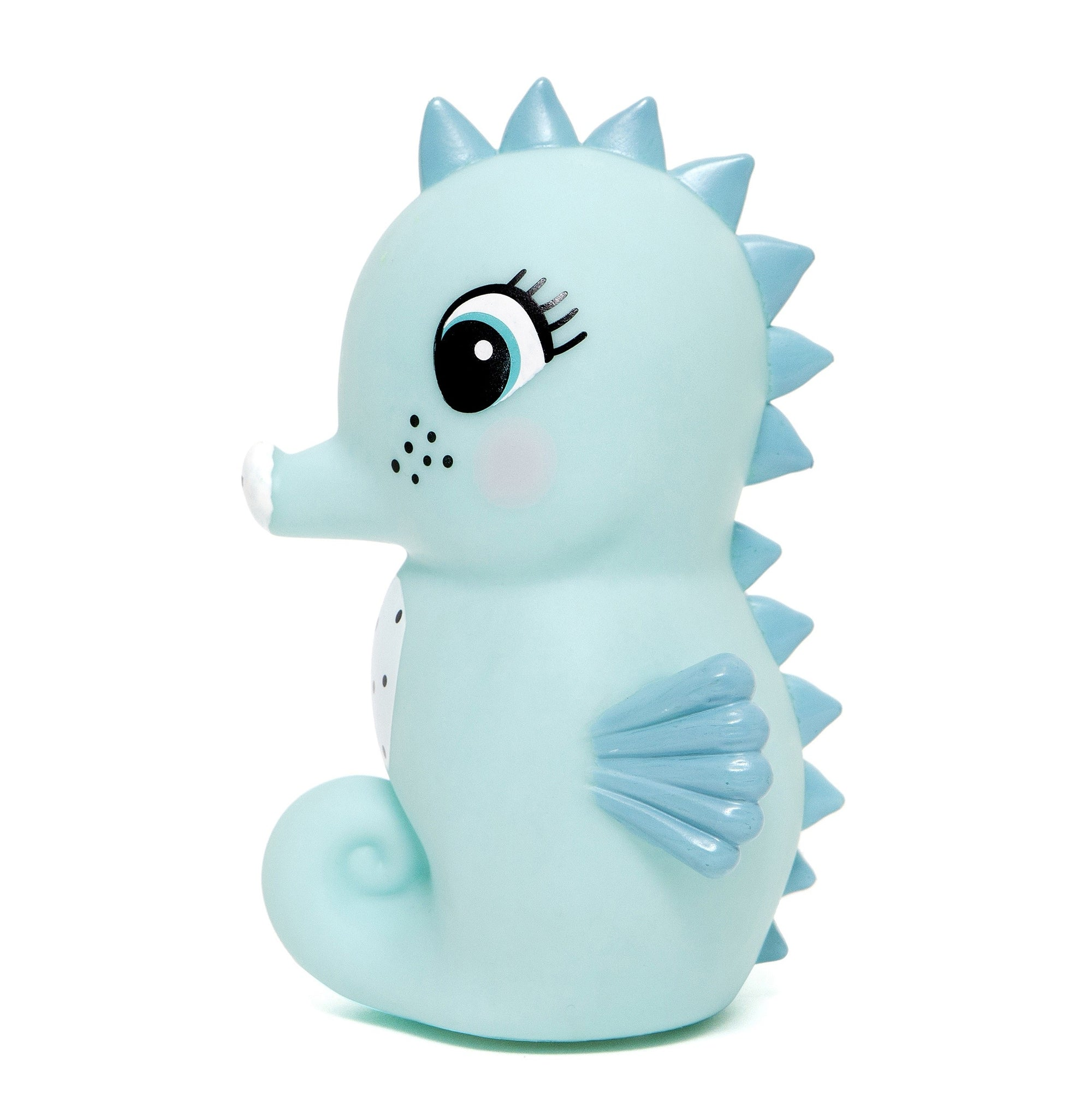 Petit Monkey Seahorse Night Light Blue