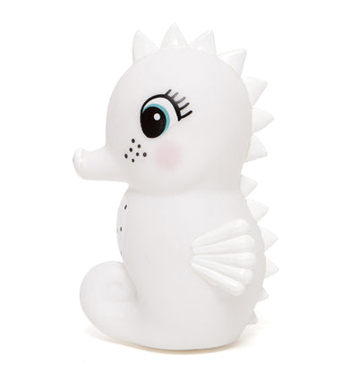 Petit Monkey Seahorse Night Light White