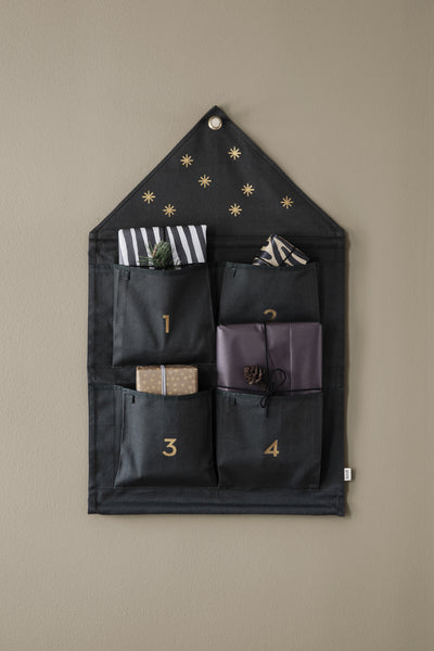 Ferm Living House Advent Calendar / Dark Green