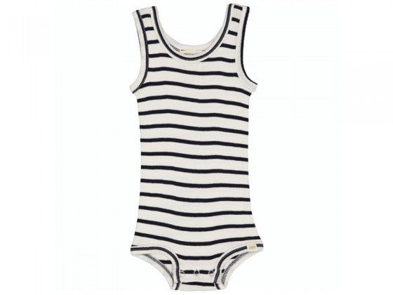 Minimalisma Silk Body / Navy Stripe