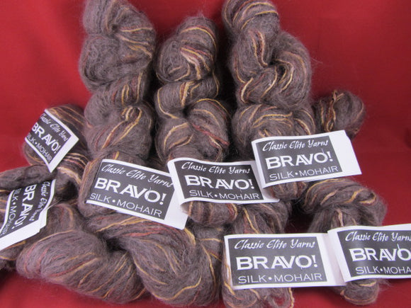 Yarn-- Bravo by Classic Elite Brown