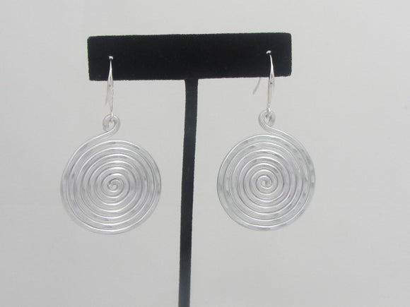 ER 151 - A4 Monet Earrings- Silver