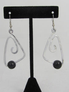 ER 55 T  Bermuda Tagua Earrings