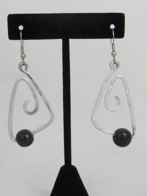 ER 55T  - A3  Bermuda Tagua Earrings