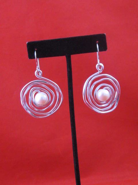 ER 73 P  Pearl Jam Earrings