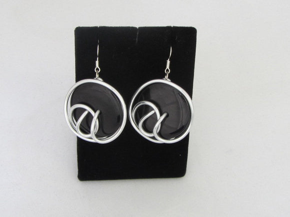 ER 77  - A3 Disk Earrings
