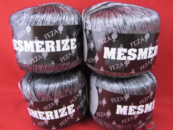 Yarn---Mesmerize By Feza Dark Silver