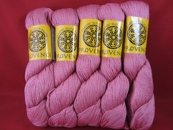 Yarn-- Provence by Classic Elite  Pink