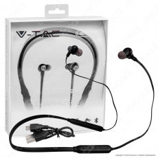 V-TAC VT-6166 COPPIA DI AURICOLARI BLUETOOTH SPORTS EARPHONES