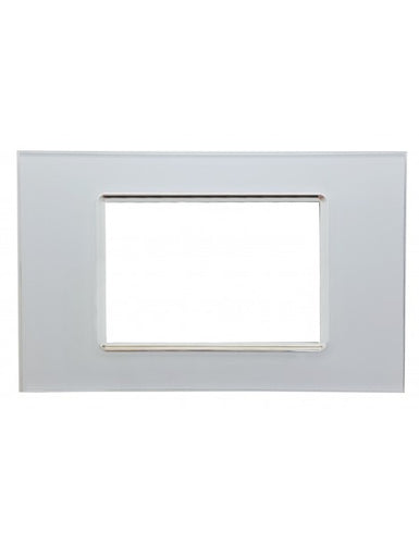 Placche vetro compatibile bticino living light placca 3M/4M/7M