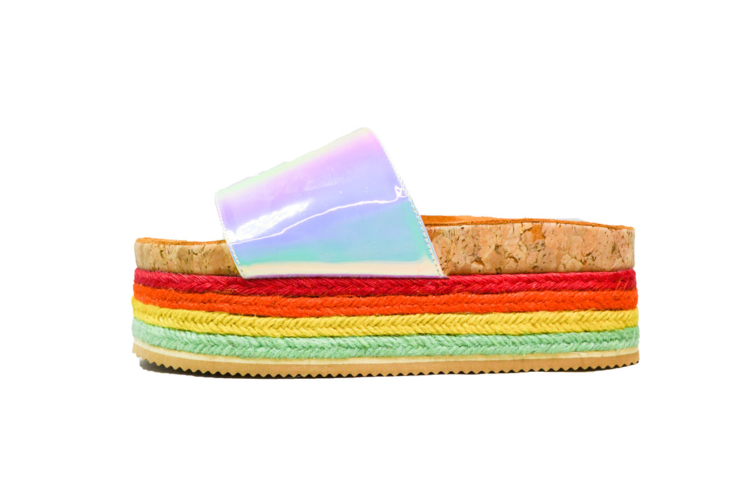 PRIDE SUPER WEDGE by Karen Estrada