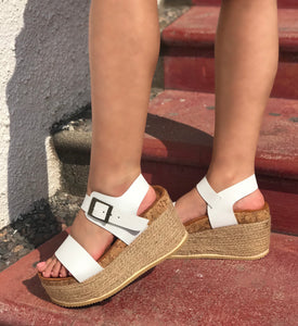 ATENEA SUPER TACON WEDGE BLANCO