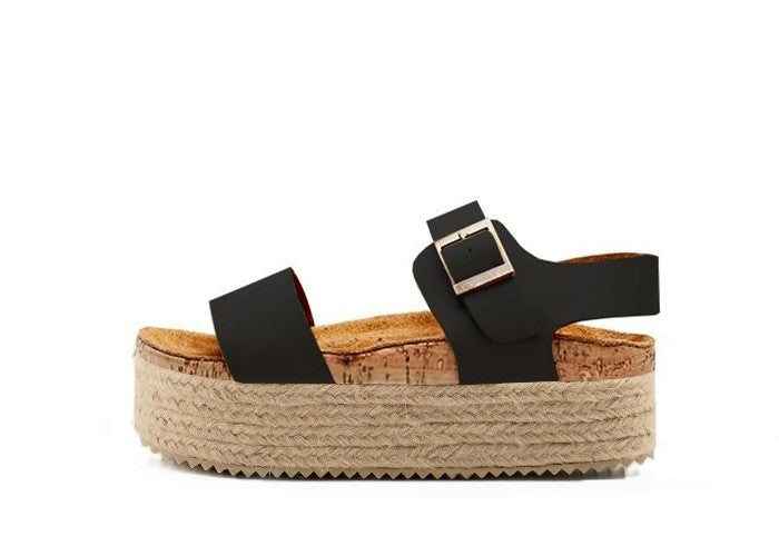 ATENEA SUPER WEDGE NEGRO