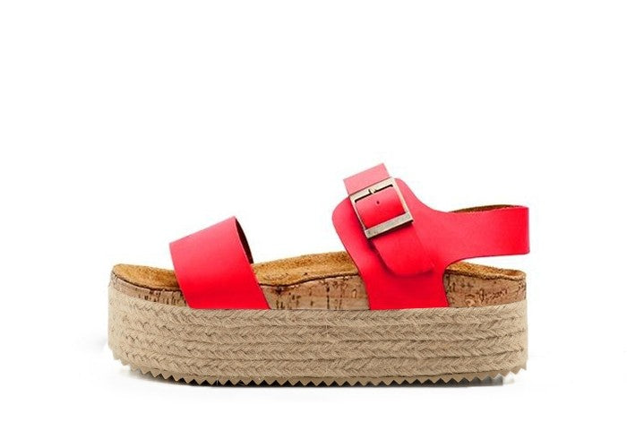 ATENEA SUPER WEDGE ROJO