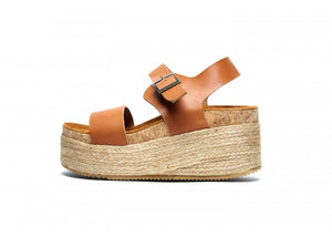 ATENEA SUPER TACON WEDGE CAMEL