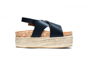 LIRA SUPER WEDGE NEGRO