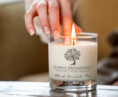 More about our lotion candles