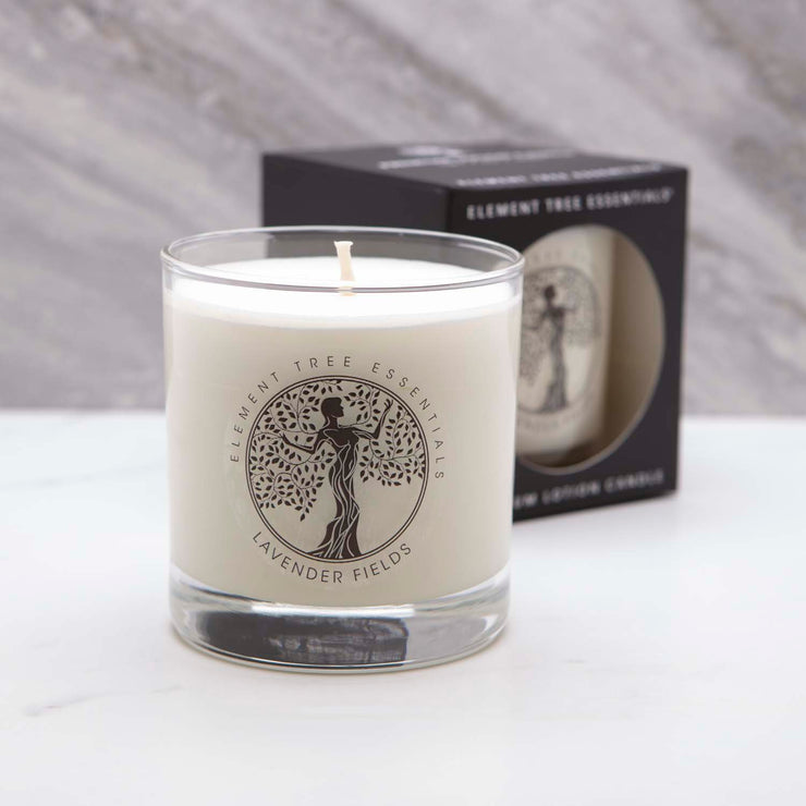 Lavender Fields Lotion Candle