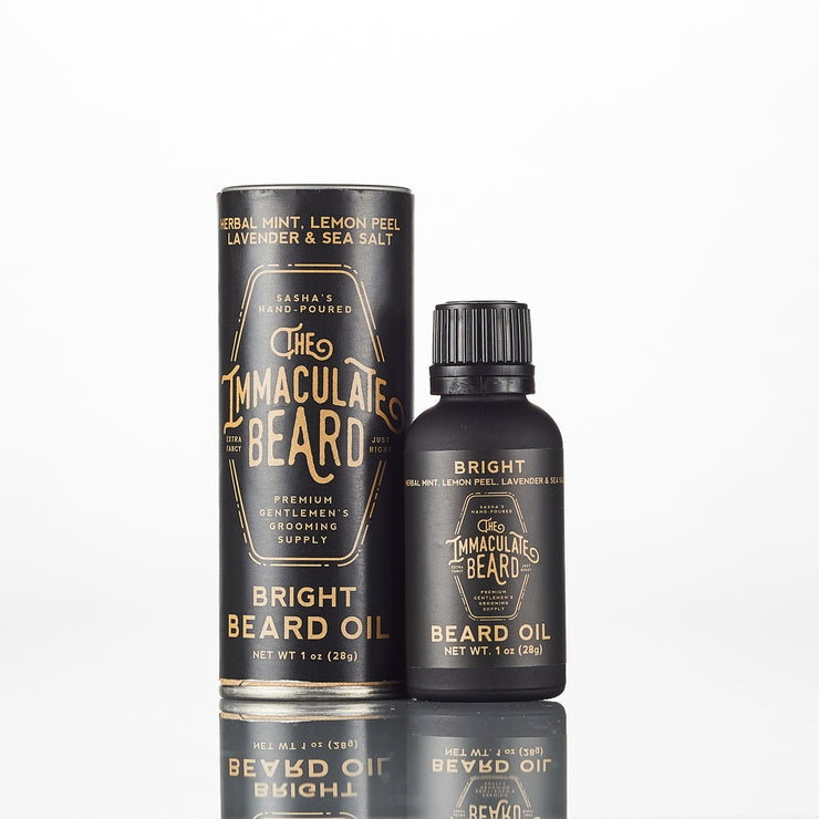 Beard Oil 1oz - Scent Bright - Immaculate Beard