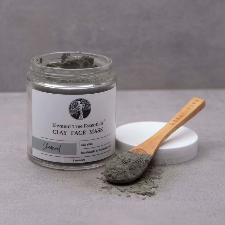 Charcoal Clay Face Mask 4 oz