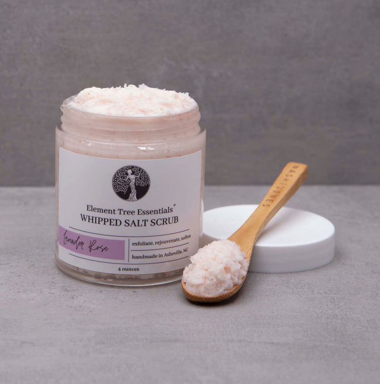 Lavender Rose Whipped Salt Scrub