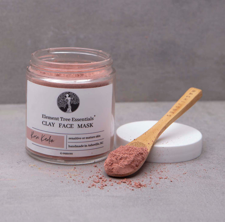 Rose Kaolin Clay Face Mask